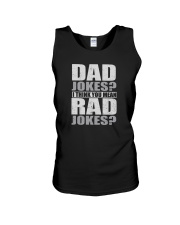 THINK YOU MEAN RAD JOKES Unisex Tank thumbnail