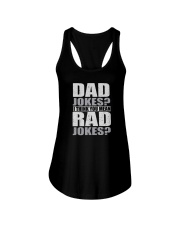 THINK YOU MEAN RAD JOKES Ladies Flowy Tank thumbnail