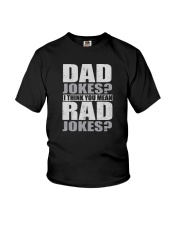 THINK YOU MEAN RAD JOKES Youth T-Shirt thumbnail
