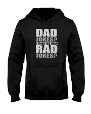 THINK YOU MEAN RAD JOKES Hooded Sweatshirt thumbnail