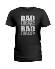 THINK YOU MEAN RAD JOKES Ladies T-Shirt tile
