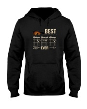 BEST GUITAR MUSIC NOTE DAD EVER 2 Hooded Sweatshirt thumbnail