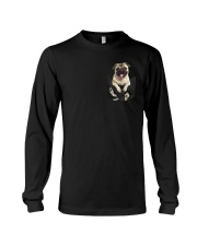 PUG IN POCKET Long Sleeve Tee tile