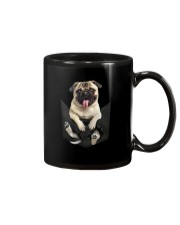 PUG IN POCKET Mug tile