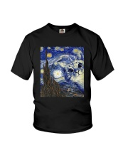 van gogh cat Youth T-Shirt thumbnail