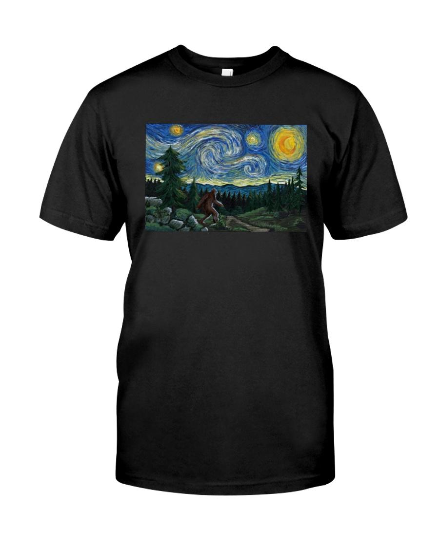 BIGFOOT STARRY NIGHT Classic T-Shirt