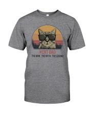 CAT DAD THE LEGEND Classic T-Shirt tile
