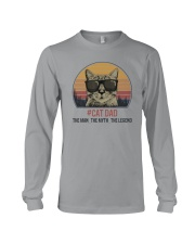 CAT DAD THE LEGEND Long Sleeve Tee thumbnail