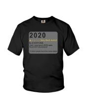 2020 VERY BAD AWFUL Youth T-Shirt thumbnail