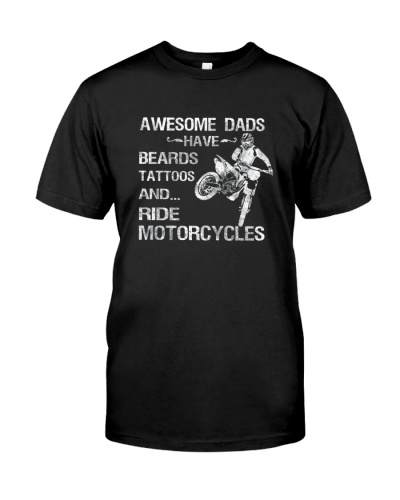 AWESOME DADS RIDE MOTORCYCLES