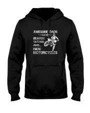 AWESOME DADS RIDE MOTORCYCLES Hooded Sweatshirt thumbnail