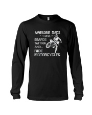 AWESOME DADS RIDE MOTORCYCLES Long Sleeve Tee thumbnail