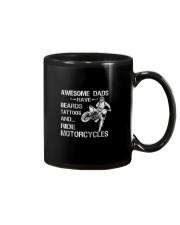 AWESOME DADS RIDE MOTORCYCLES Mug thumbnail