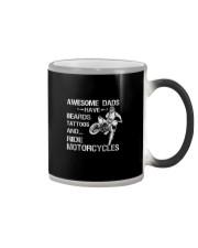 AWESOME DADS RIDE MOTORCYCLES Color Changing Mug thumbnail