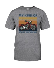 MY KIND OF SOCIAL DISTANCING Classic T-Shirt front
