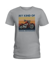 MY KIND OF SOCIAL DISTANCING Ladies T-Shirt tile