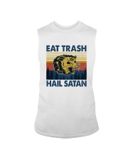 EAT TRASH HAIL SATAN RACCOON Sleeveless Tee thumbnail