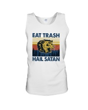 EAT TRASH HAIL SATAN RACCOON Unisex Tank thumbnail