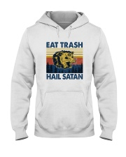 EAT TRASH HAIL SATAN RACCOON Hooded Sweatshirt thumbnail