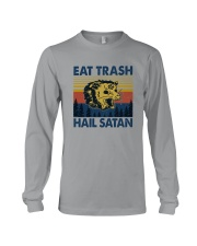 EAT TRASH HAIL SATAN RACCOON Long Sleeve Tee thumbnail