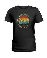 BESTER PAPA DER WELT Ladies T-Shirt thumbnail