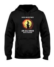 NEVER UNDERESTIMATE AN OLD MAN SAMURAI Hooded Sweatshirt thumbnail