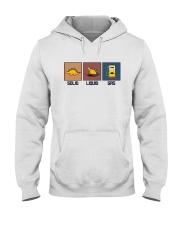 FUNNY DINOSAUR SOLID LIQUID GAS Hooded Sweatshirt thumbnail