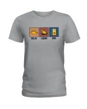 FUNNY DINOSAUR SOLID LIQUID GAS Ladies T-Shirt thumbnail