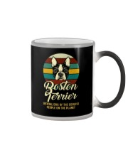 official dog boston terrier Color Changing Mug thumbnail