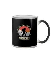 SOCIAL DISTANCING CHAMPION Color Changing Mug thumbnail