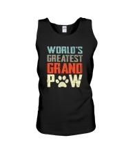 WORLD GREATEST GRAND PAW Unisex Tank thumbnail