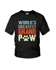 WORLD GREATEST GRAND PAW Youth T-Shirt thumbnail