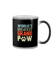 WORLD GREATEST GRAND PAW Color Changing Mug thumbnail
