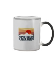 ADVENTURE IS OUT THERE Color Changing Mug thumbnail
