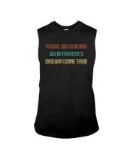 SOCIAL AN INTROVERT'S DREAM COME TRUE Sleeveless Tee thumbnail