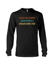 SOCIAL AN INTROVERT'S DREAM COME TRUE Long Sleeve Tee thumbnail