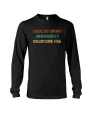 SOCIAL AN INTROVERT'S DREAM COME TRUE Long Sleeve Tee thumbnail