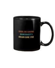 SOCIAL AN INTROVERT'S DREAM COME TRUE Mug thumbnail
