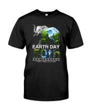EARTH DAY 50TH Classic T-Shirt front