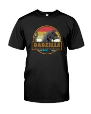 DADZILLA VINTAGE FATHER OF MONSTERS Classic T-Shirt front