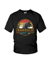 DADZILLA VINTAGE FATHER OF MONSTERS Youth T-Shirt thumbnail