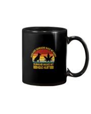 DOGS AND CANNABIS MAKE ME HAPPY Mug thumbnail