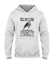 A GIRL REALLY LOVED TURTLES AND TATTOOS Hooded Sweatshirt tile