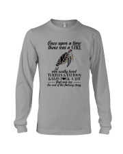 A GIRL REALLY LOVED TURTLES AND TATTOOS Long Sleeve Tee tile