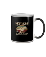 DADDYSAURUS noun Color Changing Mug thumbnail