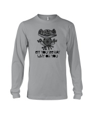 EFF YOU SEE KAY WHY OH YOU Long Sleeve Tee thumbnail