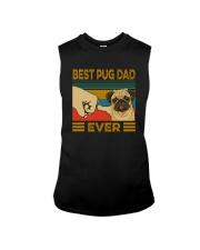 BEST PUG DAD EVER Sleeveless Tee thumbnail