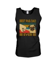 BEST PUG DAD EVER Unisex Tank thumbnail