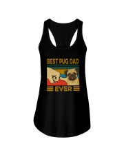 BEST PUG DAD EVER Ladies Flowy Tank thumbnail