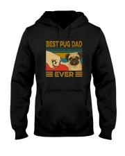 BEST PUG DAD EVER Hooded Sweatshirt thumbnail